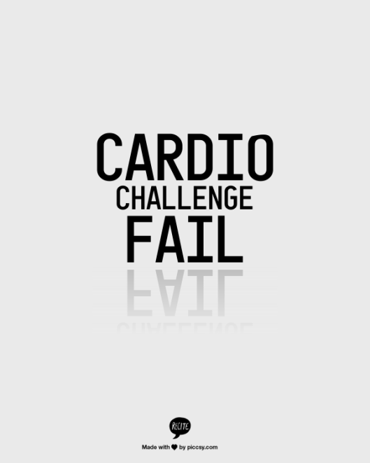 Cardio Challenge - Day 6